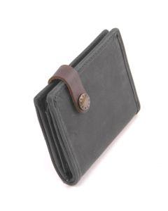 BARBAROSSA Ruvido - Kleine Brieftasche in pine