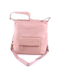 BREE Brigitte 17 - Handtasche in light pink braided