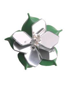 BREE Change it! 907 - Flower Button in green