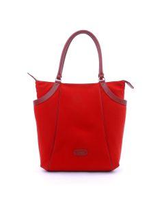 BREE Lisboa 6 - Tote bag in dark red