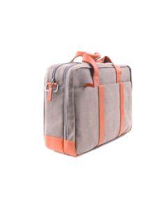 BREE  Punch Casual 67 - Businesstasche in grey / cognac