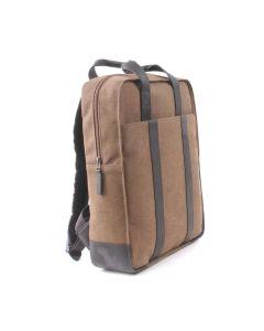 BREE Punch Casual 716 - Rucksack in beige / black coffee