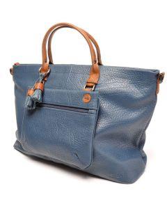 berba Chamonix - Doppelhandtasche in blau